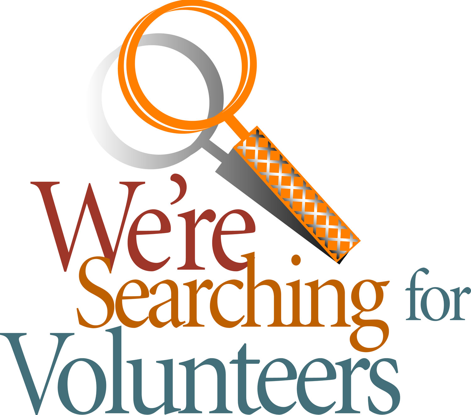calling all volunteers clipart 1